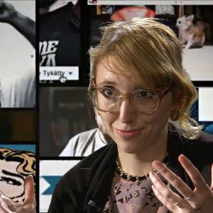 """Isabella Holm i inslaget """"Allt du behöver veta om källkritik på nätet"""""""