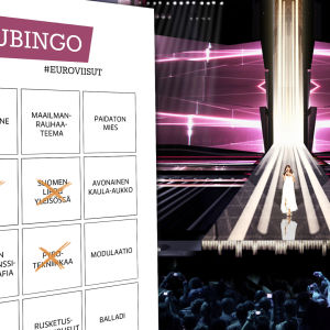 Euroviisujen viisubingo