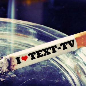 tobak med pinsam text på