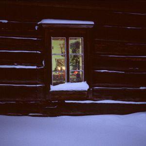 Jul i en stockstuga