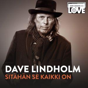 Dave Lindholm SuomiLOVE-sinkun kannessa.