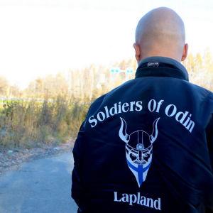 Medlem av den fosterländska organisationen Soldiers of Odin.