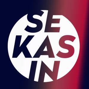 X3M är sekasin-logo med rött
