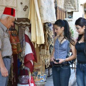 Ostoksilla Libanonissa