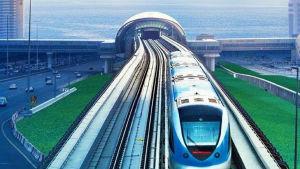 Så här skulle det kunna se ut på Tallinns sida av Finska viken om tågtunneln till Helsingfors blev verklighet.