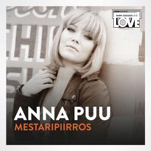 SuomiLOVEn 3. singlen kansi, jossa on Anna Puu.