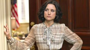 Rouva varapresidentti, Julia Louis-Dreyfus, yle tv1