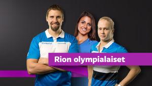Antti Ruuskanen, Nooralotta Neziri ja Petra Olli