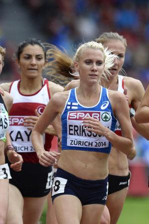 Sandra Eriksson, EM 2014.