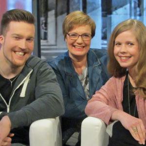 Aapeli Myllynen, Hilla Blomberg, Anna-Elina Rahikainen