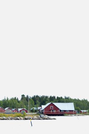 Svedjehamn, Björkö taget från havssidan