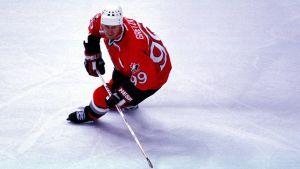 Wayne Gretzky hörde till spelarna som glänste under Kanada Cup 1987.