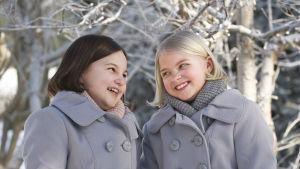 Aava Merikanto och Lilja Lehto Som Onneli och Anneli