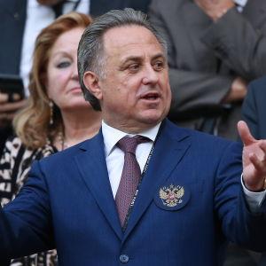 Rysslands idrottsminister Viltalij Mutko.