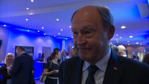 Juhani Kaskeala Lennart Meri -konferenssissa 2016.