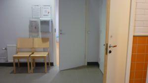 Elevvårdsutrymmena i Borgå gymnasium är inte ändamålsenliga.
