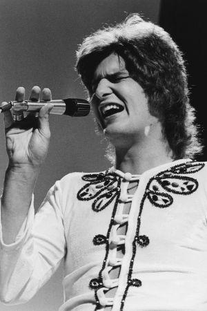 Frederik esiintymässä ohjelmassa Hengellinen Pop Story, 1972