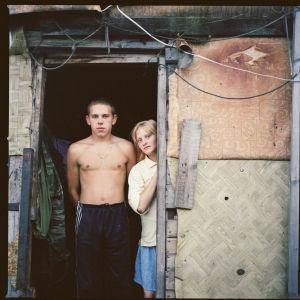 Yula (kuvassa oikealla) asuu Euroopan suurimalla kaatopaikalla Moskovan laidalla