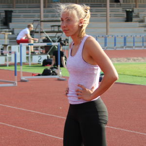 Esbo IF:s Jessica Rautelin i Helsingfors 2016.