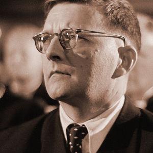 Säveltäjä Dmitri Shostakovitsh