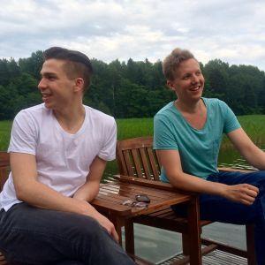 Tom Rejström och Samuel Karlsson