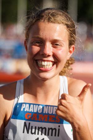 Taika Nummi, Paavo Nurmi Games 2016