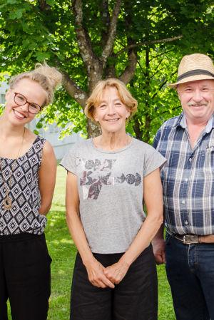 Malin Olkkola, Birgitta Schoultz-Ekblad, Torbjörn Klemets och Olli Siren.