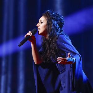 Jamala representerar Ukraina i Eurovisionen 2016.
