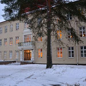 B-huset vid Vasa centralsjukhus psykiatriska enhet i Roparnäs i Vasa