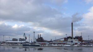 Sörnäs hamn i Helsingfors
