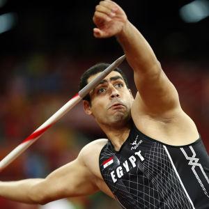 Ihab Abdelrahman vann VM-silver i Peking år 2015.