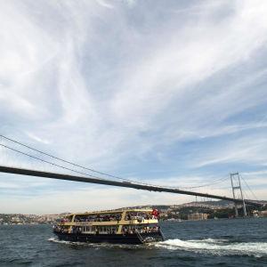 Bosporenbron i Istanbul.