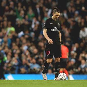 Zlatan Ibrahimovic deppade och Manchester City jublade efter kvartsfinalen i Champions League.