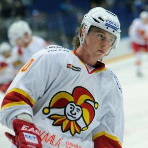 Tim Kennedy spelade en halv säsong i KHL-klubben Jokerit.