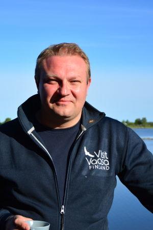 Max Jansson, vd för Visit Vaasa.