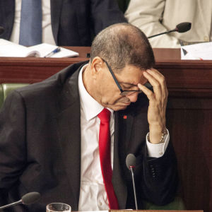 Tunisiens tidigare premiärminister Habib Essid.