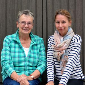 Lena Selén och Mikaela Sonck.