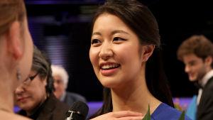 Christel Lee voitti Sibelius-viulukilpailun 2015.