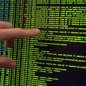 Hewlett Packards cybersäkerhetscenter i Tyskland 9.9.2014