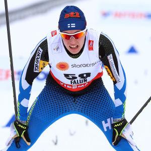 Matti Heikkinen under VM i Falun 2015