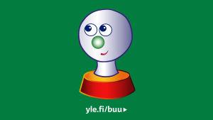 Buu Klubbenin vihreä logokuva Lasten Fyndiin