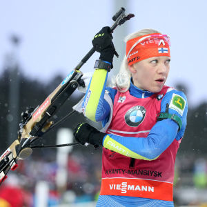 Kaisa Mäkäräinens skytte höll inte för medalj.