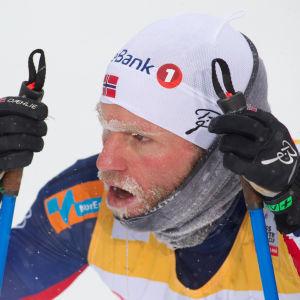Martin Johnsrund Sundby slutade femma i Falun.