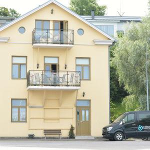 Hit flyttar Ekenäs taxi 1.8.2016.