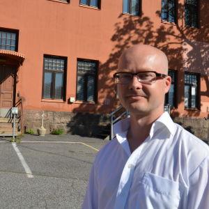 Tuomas Martikainen är ny chef för migrationsinstitutet i Åbo.
