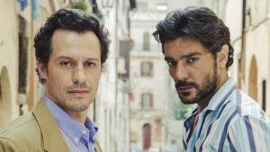 Tuomari ja rosvo: Andrea Esposito (Stefano Accorsi) ja Francesco Russo (Giuseppe Zeno)