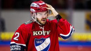 Siim Liivik kom till HIFK mitt under den här säsongen.