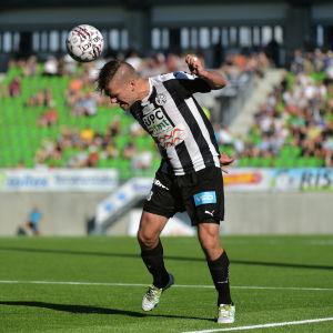 Sebastian Strandvall gjorde mål igen när VPS vann på hemmaplan.
