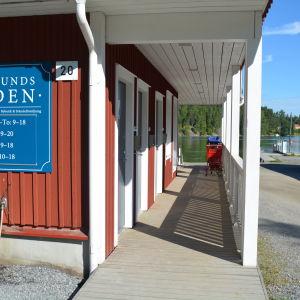 Närbutiken i Barösund.
