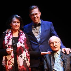 Christina Indrenius-Zalewski, Riko Eklundh och Fred Negendanck